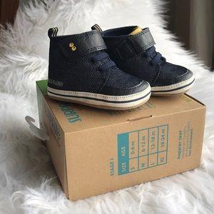 0-6 months denim shoes